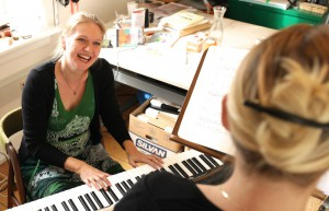 Christina Dahl underviser