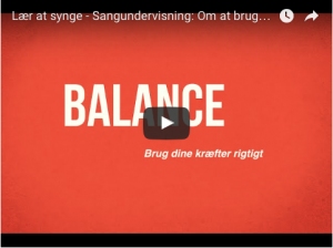 Video sangkrop i balance Christina Dahl